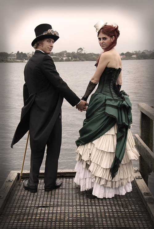 steampunk-wedding-outfits