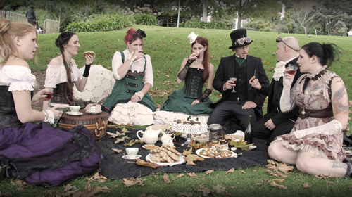 steampunk-wedding-tea-party-reception2