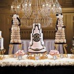 gold-wedding-cakes-gothic-wedding
