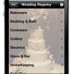 Wedding Registry App from iLists