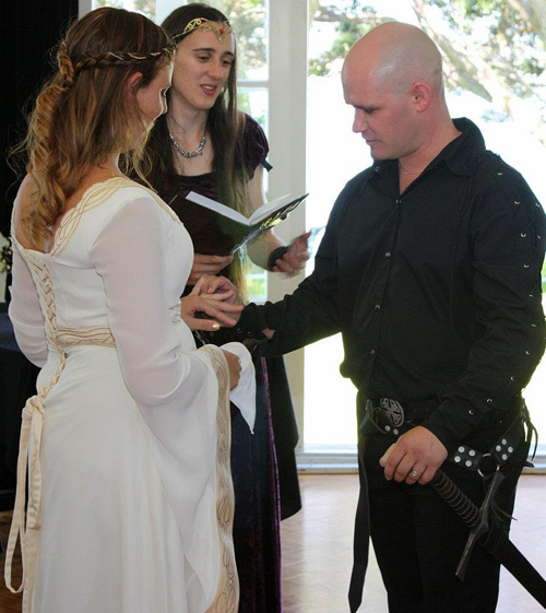 medieval wedding ceremony nz